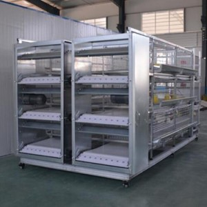 H Type Broiler Chicken Cage